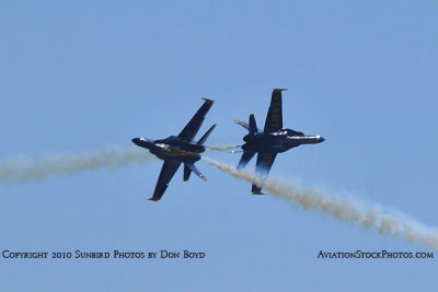 The Blue Angels at Wings Over Homestead practice air show at Homestead Air Reserve Base aviation stock photo #6280