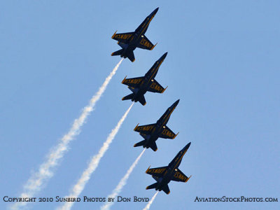 The Blue Angels at Wings Over Homestead practice air show at Homestead Air Reserve Base aviation stock photo #6281