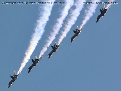 The Blue Angels at Wings Over Homestead practice air show at Homestead Air Reserve Base aviation stock photo #6286