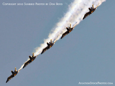 The Blue Angels at Wings Over Homestead practice air show at Homestead Air Reserve Base aviation stock photo #6287