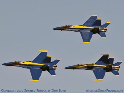 The Blue Angels at Wings Over Homestead practice air show at Homestead Air Reserve Base aviation stock photo #6306