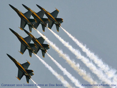 The Blue Angels at Wings Over Homestead practice air show at Homestead Air Reserve Base aviation stock photo #6309