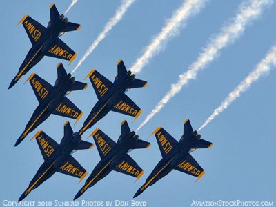 The Blue Angels at Wings Over Homestead practice air show at Homestead Air Reserve Base aviation stock photo #6310