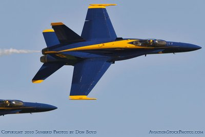 The Blue Angels at Wings Over Homestead practice air show at Homestead Air Reserve Base aviation stock photo #6318
