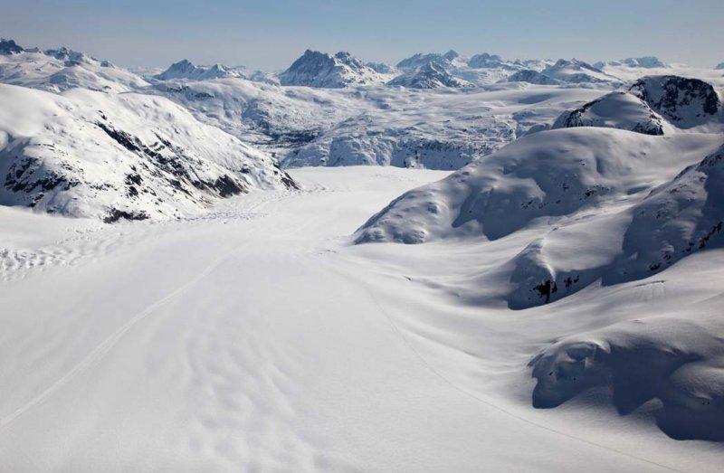 Salmon Glacier,  View E/NE <br> (CassiarCambria043009-_039.jpg)