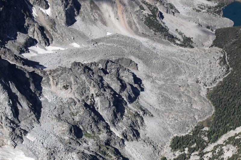 Rock Glacier, Upper Falls Creek <br> (BearAbsarok090209-198.jpg)