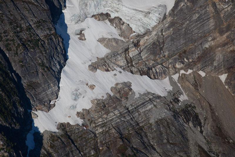 Banded Rock, Borealis Glacier <br> (PrimusEldo_091912_004-1.jpg)
