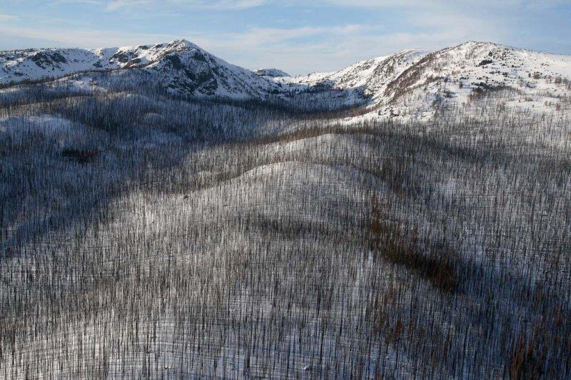 Sunny Pass, View NNW <br> (HorseshoeBsn030608-_143.jpg)