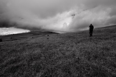 The Pilot Goes For A Walk:  Horseshoe Mountain, SW Slopes <br> (EaWA091610-40adj.jpg)