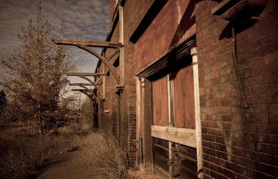 Abandoned Train Station, Calumet<br>(Keweenaw_101212_023-1.jpg)