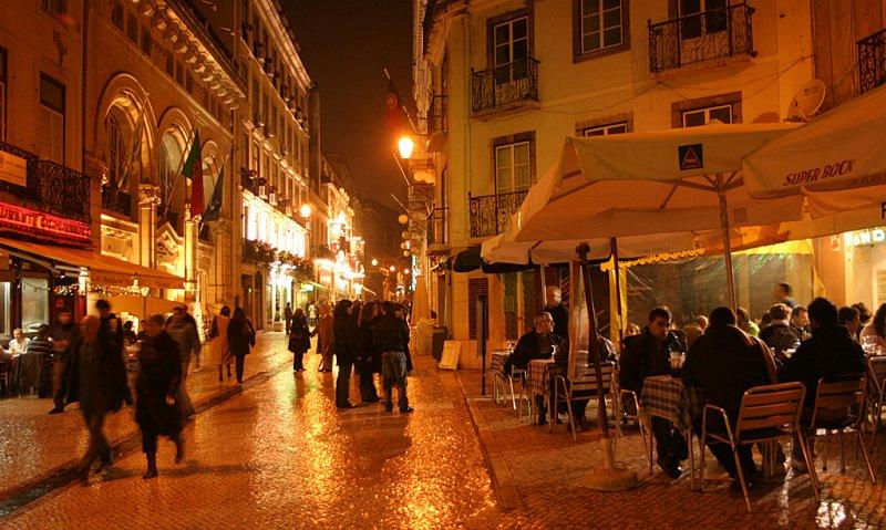 Diner time in Lisbon