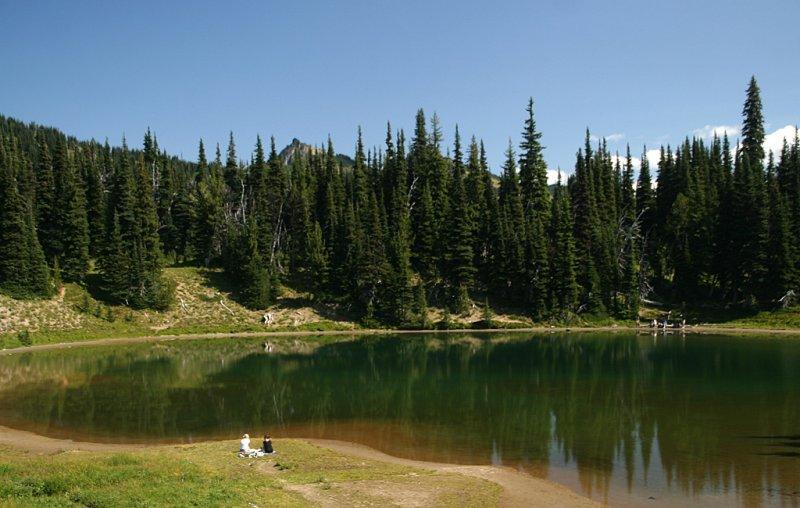 Picnic at Shadow Lake