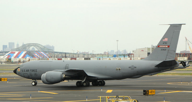 KC-135, the military version of the 707