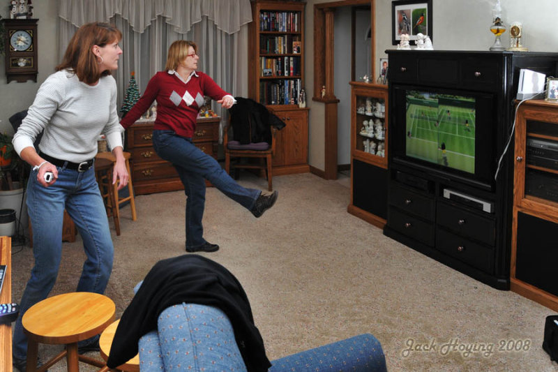 Wii Tennis Competition