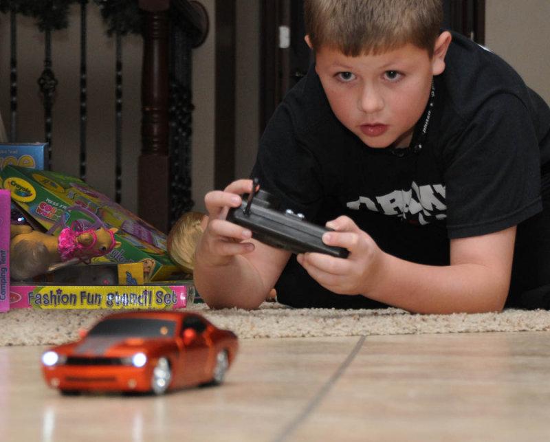 Nolans new Dodge Challenger
