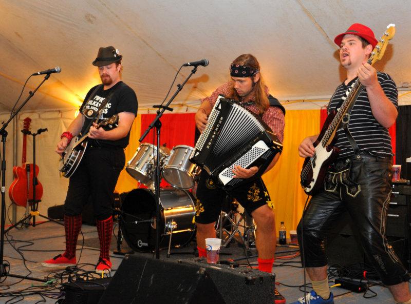 Chardon Polka Rock Band at Germany Heritage Days, 2012