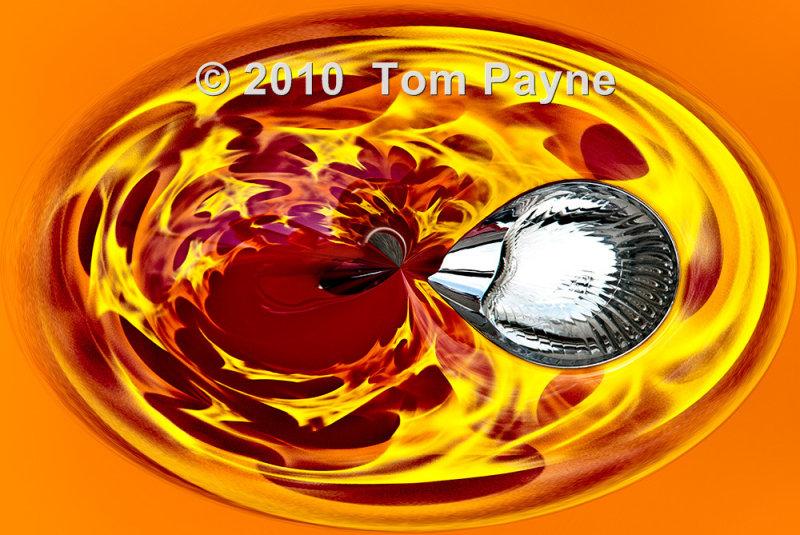 100911-166--  Fiery Hot Rod Headlight