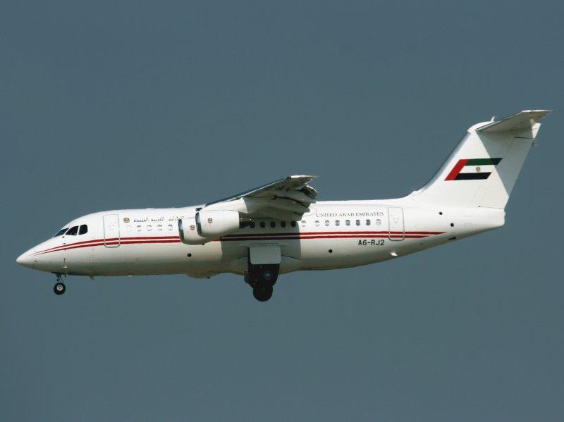 Bae146-200  A6-RJ2