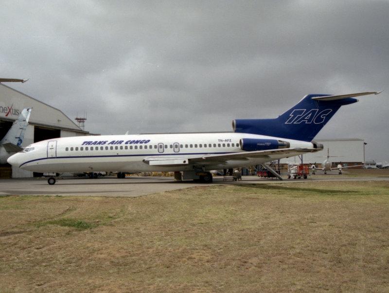 B727-100  TN-AFZ