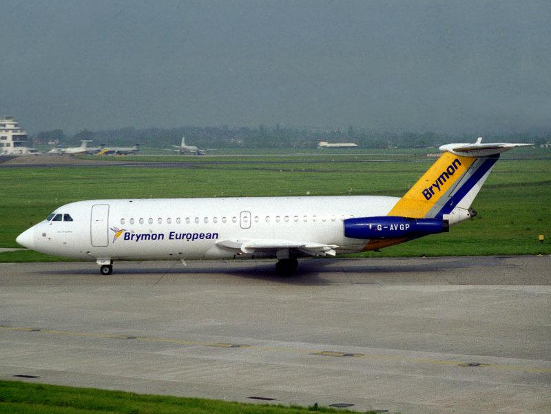 BAe 111-400  G-AVGP