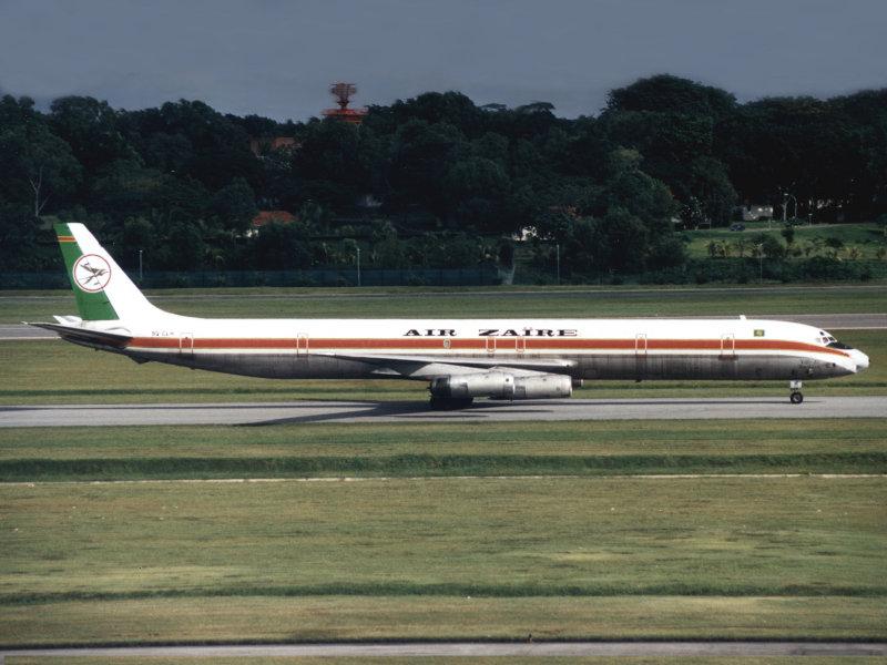 DC8-63F 9Q-CLH