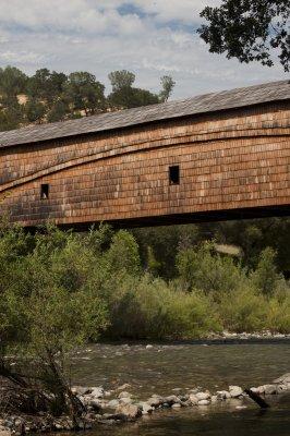 Covered Bridge over the Yuba River