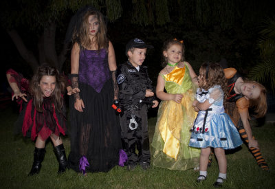 Halloween Guy and Ghouls