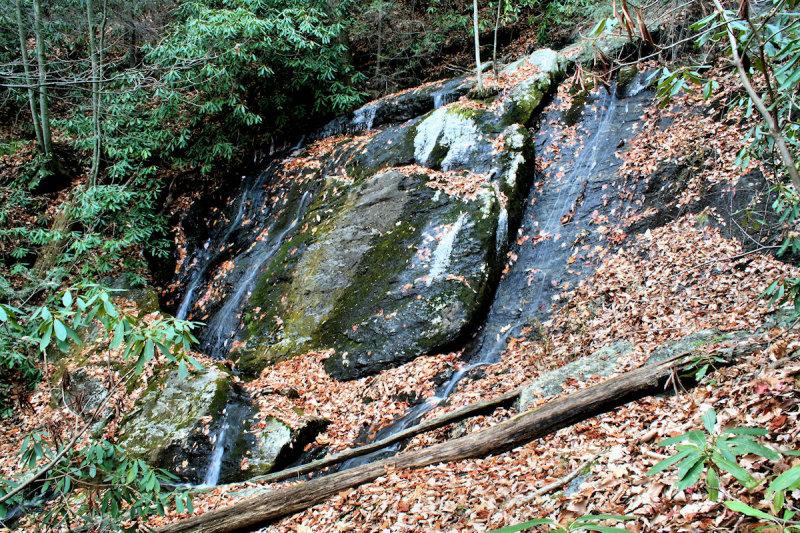 New Falls Shots Of Falls NO. 2 On No Name Creek