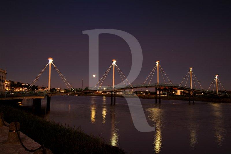 A Ponte Pedonal de Alcácer