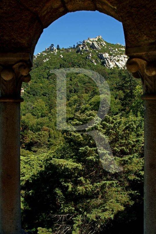 O Castelo dos Mouros Visto da Torre