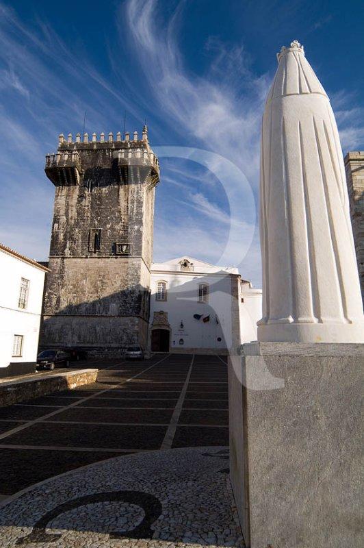 A Torre do Castelo de Estremoz (MN)