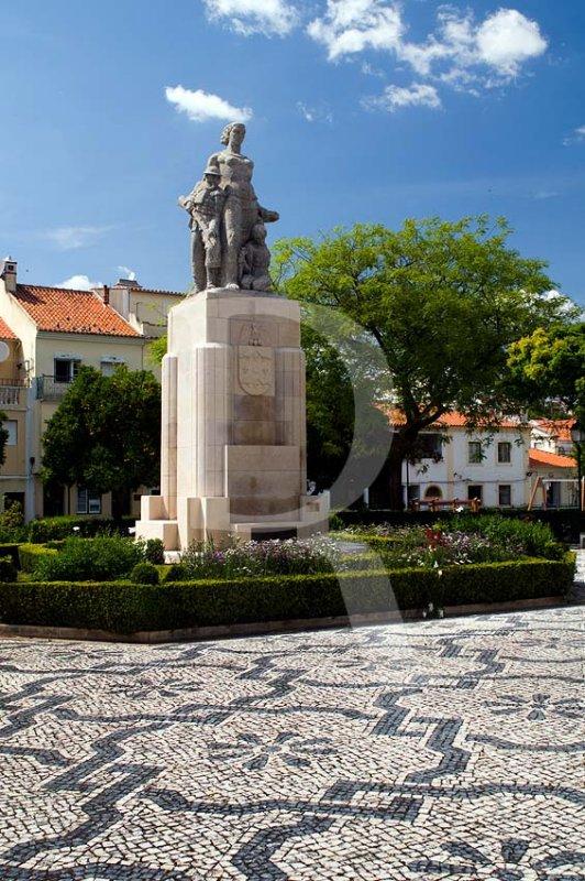 Monumento aos Mortos na I Grande Guerra, por Ruy Roque Gameiro