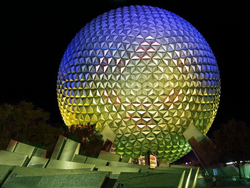 Disney Epcot 09 Spaceship Earth