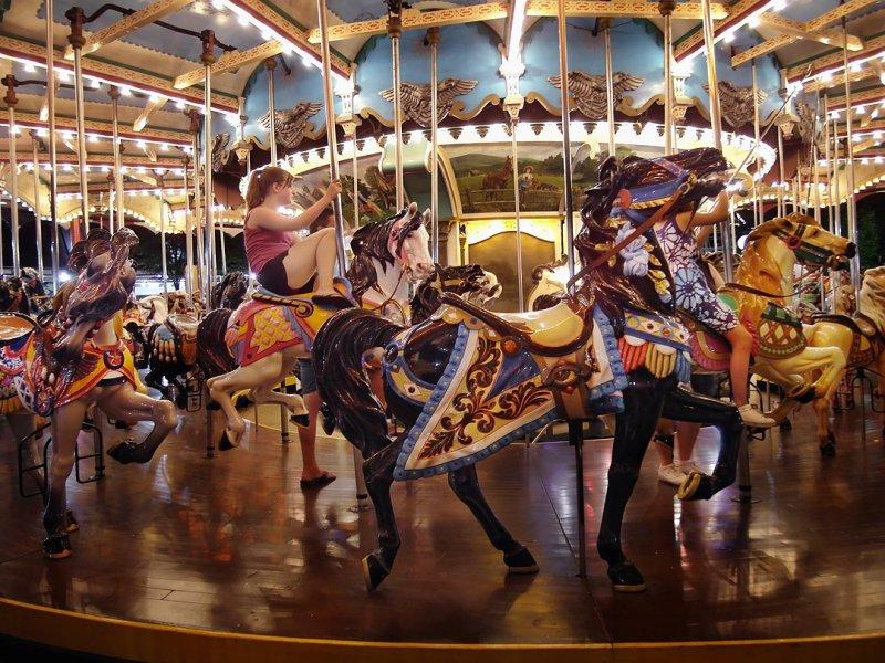 Hersheypark Carousel 2