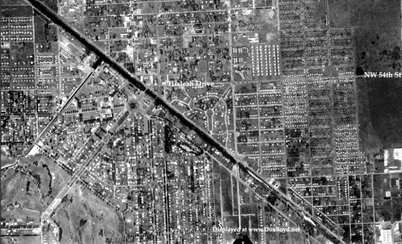1952 - portions of Hialeah and Miami Springs, Florida