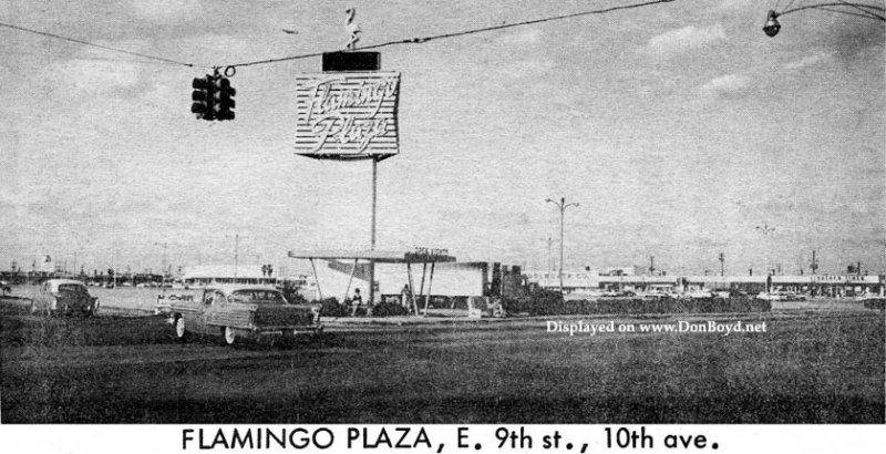 1964 - Flamingo Plaza shopping center