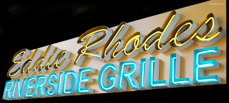 2010 - Eddie Rhodes Riverside Grille at 78 Canal Street in Miami Springs