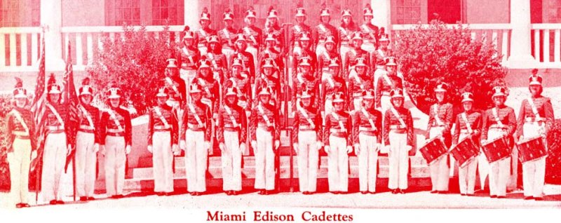 1952 - Miami Edison High School Cadettes