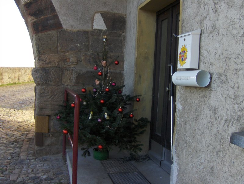 Breisach Christmas Doorway