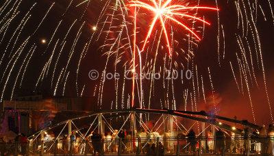 Canalside Fireworks