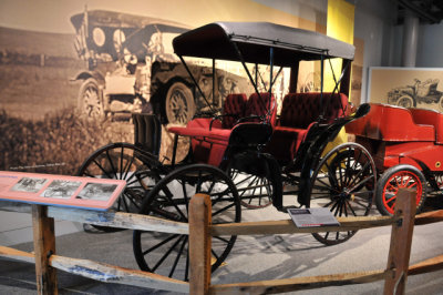 Before automobiles, there were carriages, such as this 1890 Studebaker. America On Wheels (AOW) Collection.