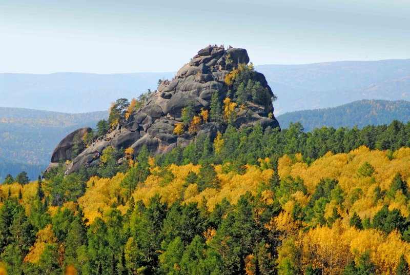 National park Stolby (1st Stolb)
