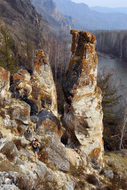 river Beliy Iyus (Republic of Khakassia)