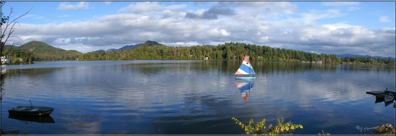 Mirror Lake ~ Lake Placid, NY