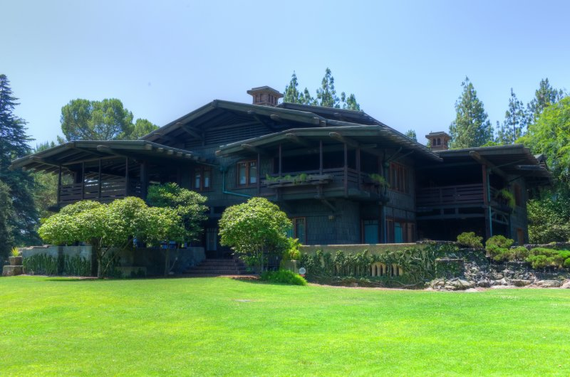 Gamble House from the Back