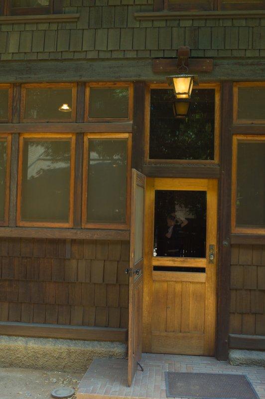 Gamble House Back Door
