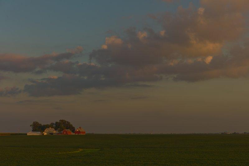 Farm Near Lake Bloomington