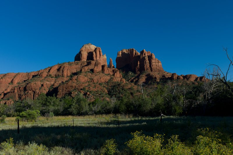 Cathedral Rock and Meadow 2