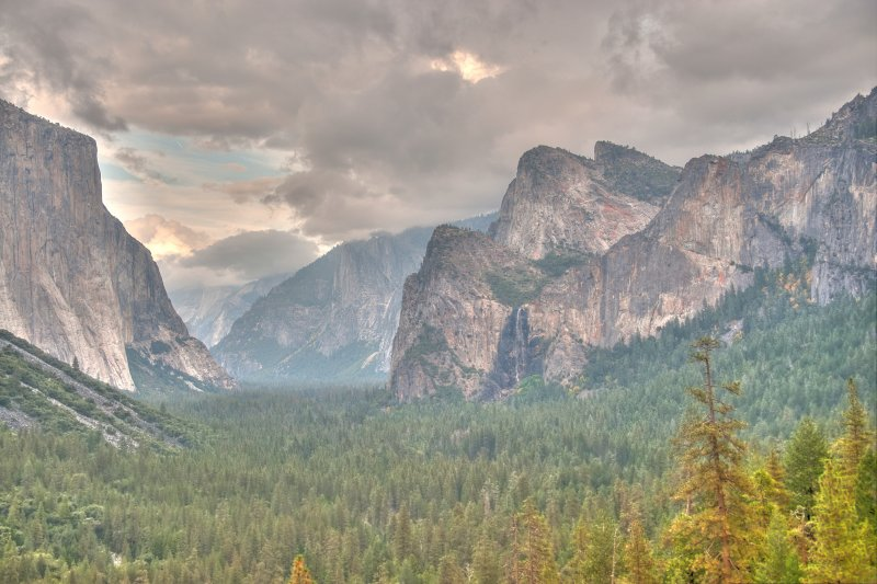 Tunnel View A