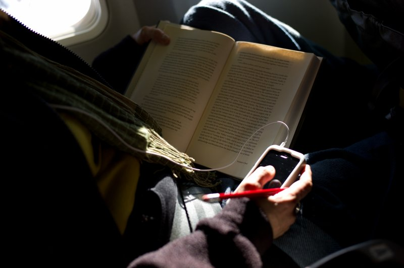 iPhone and Book